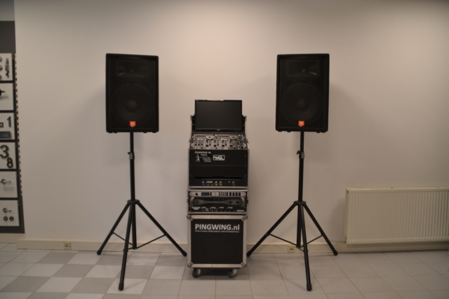 Budget geluidsinstallatie huren, verhuur geluidsinstallatie