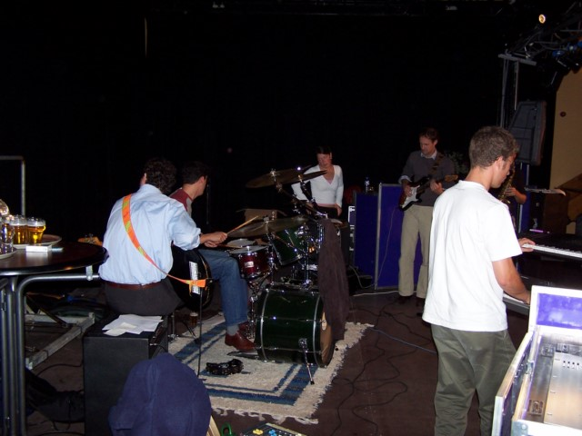 audio support band of zanger(es)