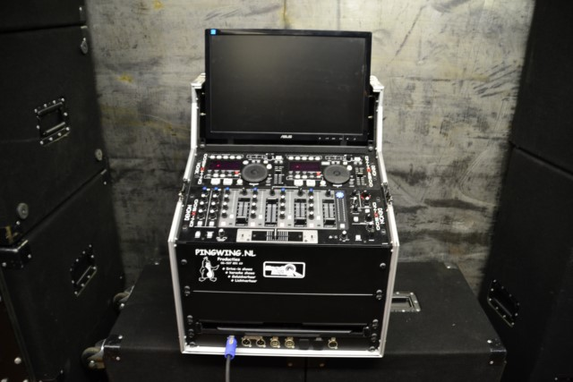Budget DJ-booth, dj booth verhuur